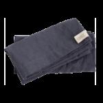 Ernst - Tygservett 40x40 grå 2-pack