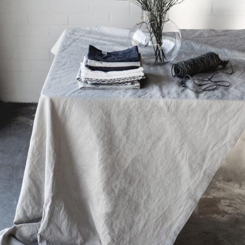 Ernst - Duk 140x300 grå