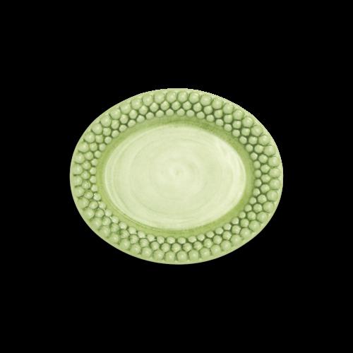 Mateus - Grön Bubbles oval tallrik 20cm