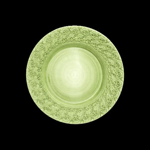 Mateus - Lace Tallrik 32cm Grön