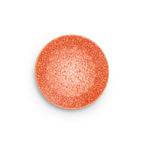 Mateus - Lace Tallrik 20cm Orange