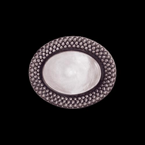 Mateus - Plommon Bubbles oval tallrik 20cm