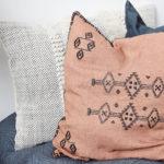 House Doctor - Pillowcase, Inka, Nude, l: 50 cm, w: 50 cm