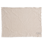 Ernst - Tablett med fransad kant - natur