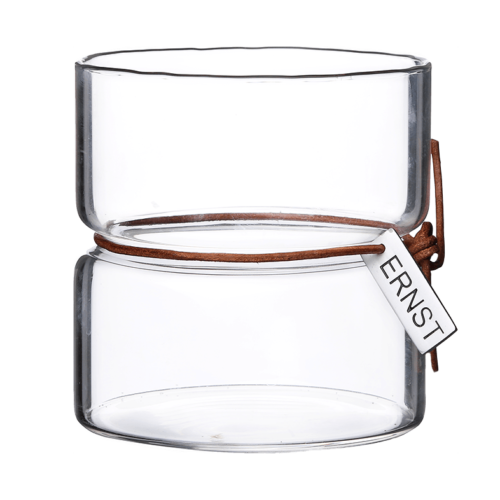 Ernst - Värmeljuslykta glas, stor