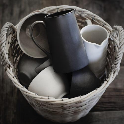 "Ernst - Mjölkkanna ""I det enkla"" - vit"