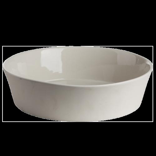 Ernst - Skål, stengods - vit