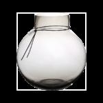 Ernst - Glasvas rund d24 h25 rökgrå