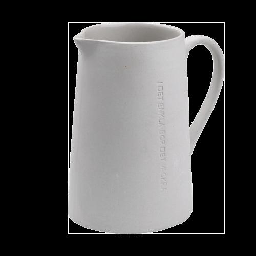"""Ernst - Mjölkkanna """"I det enkla"""" - grå"""