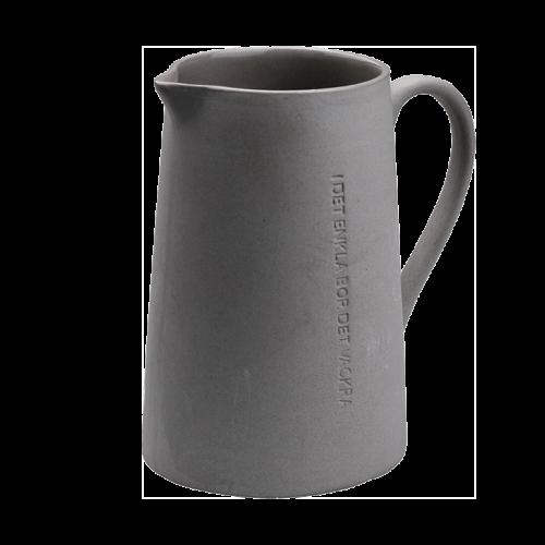 """Ernst - Mjölkkanna """"I det enkla"""" - mörkgrå"""