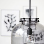 House Doctor - Lamp ball, grey