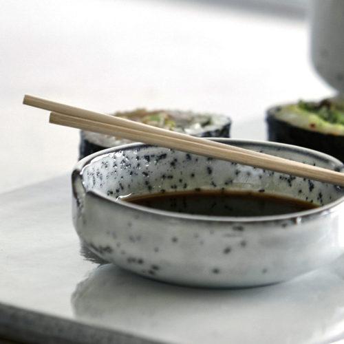 House Doctor - Soy bowl, Grey/Blue, dia: 8 cm, h: 3 cm