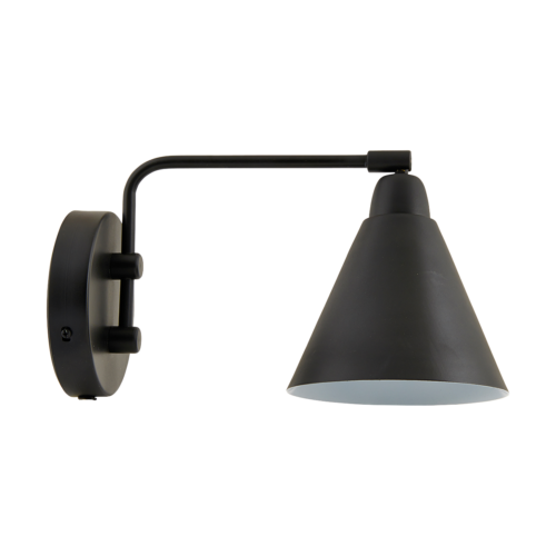 House Doctor - Wall lamp, game black/white