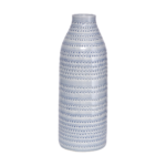 House Doctor - Vase, Circles, grey, dia.: 14.5 cm, h.: 42 cm