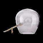 House Doctor - Lamp , Globe, grey, dia.: 30 cm, h.: 35 cm, E27, max 25 watt, 2.5 m wire