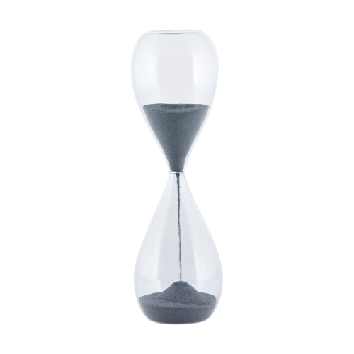 House Doctor - Sand glass, dia.: 7 cm, h.: 24 cm,