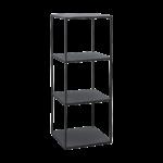 House Doctor - Rack model A, Black h 90