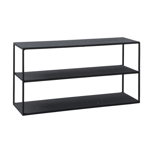 House Doctor - Rack model c, black 25x80cm, h: 40