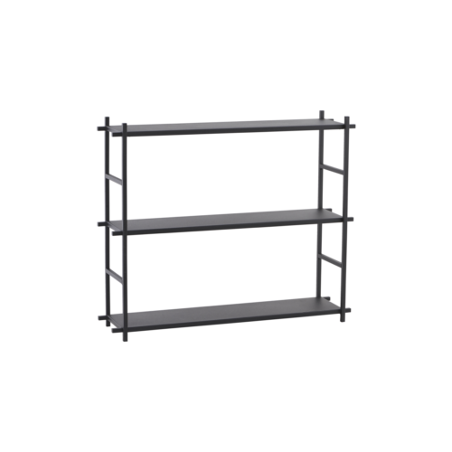 House Doctor - Shelf simple, black
