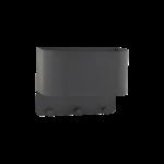 House Doctor - Hanger/pocket for wall, black 30x15x24cm