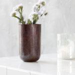 House Doctor - Vase/Planter, Style, Aubergine, Dia.: 9 cm h.: 14 cm