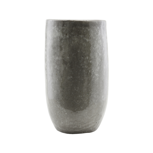 House Doctor - Vase, Earth, Green, dia: 24 cm, h: 44 cm