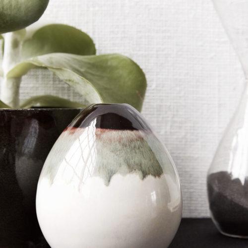 House Doctor - Vase, Baby, Mocha, dia: 9 cm, h: 10 cm
