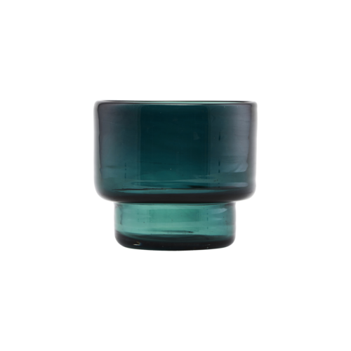 House Doctor - Tealight candlestand, Mute, Blue/Green, cm, h: 9 cm