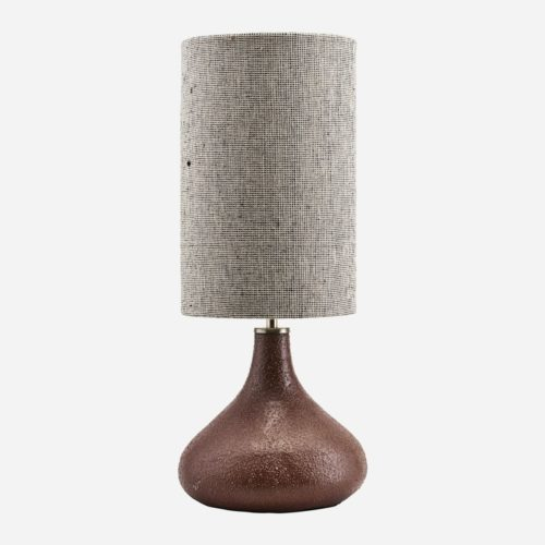 House Doctor - Table lamp, Diya, Burnt henna, dia: 26 cm, h: 34 cm, E27, max 40 W, 1,60 m ledning, Komplett