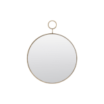 House Doctor - Mirror, The Loop, Brass, dia: 32 cm