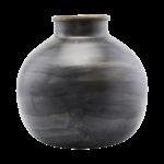 House Doctor - Vase, Etnik, Blue, dia: 30 cm, h: 30 cm