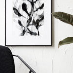 House Doctor - Illustration, herbaceous, black