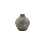 House Doctor - Vase, Forrest, Grey, dia: 9 cm, h: 10 cm