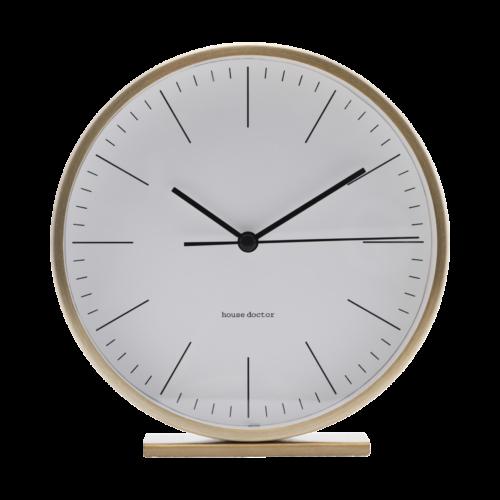 House Doctor - Clock, Hannah, Gold, dia: 15 cm