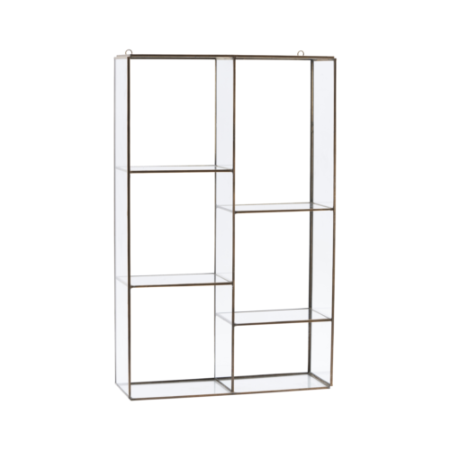 House Doctor - Hanging rack, Keeper, 6 rooms, l: 52 cm, b: 33 cm, d: 11 cm
