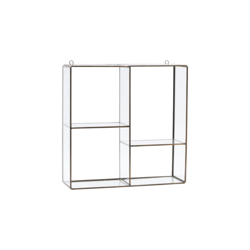 House Doctor - Hanging rack, Keeper, 4 rooms, l: 33 cm, b: 33 cm, d: 11 cm