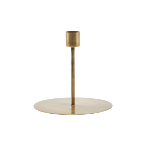 House Doctor - Candle stand, Anit, dia: 13 cm, h: 12 cm