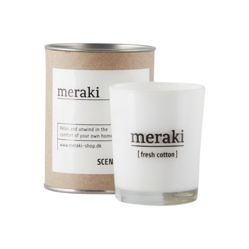 Meraki - Doftljus Fresh cotton