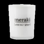 Meraki - Doftljus White tea & ginger