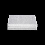 Meraki - Towel, white/grey