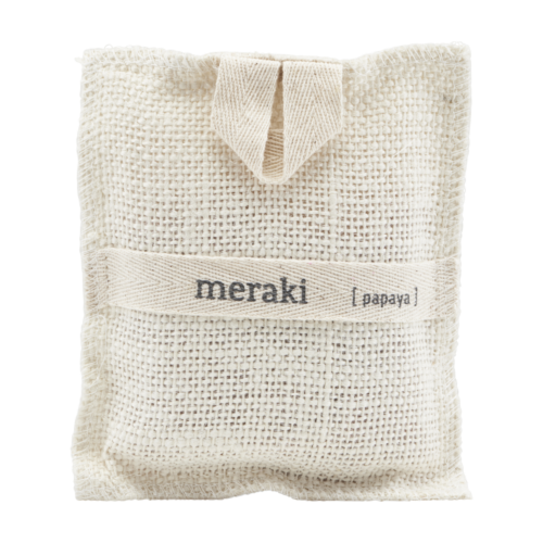 Meraki - Bath Mitt, Papaya