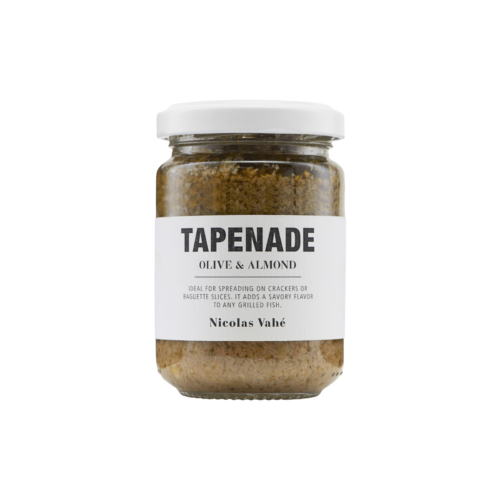 Nicolas Vahé - Tapenade, Green Olive & Almond, 140 g.