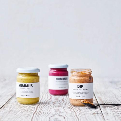 Nicolas Vahé - Hummus, Beetroot & Pistachio Nuts, 130