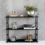House Doctor - Shelf simple, black