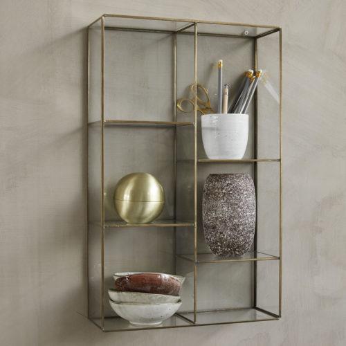 House Doctor - Hanging rack, Keeper, 6 rooms, l: 52 cm, b: 33 cm, d: 11 cm