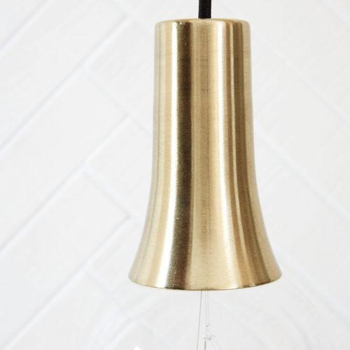 House Doctor - Socket cover, funnel brass brushed
