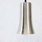 House Doctor - Socket cover, funnel silver brushed