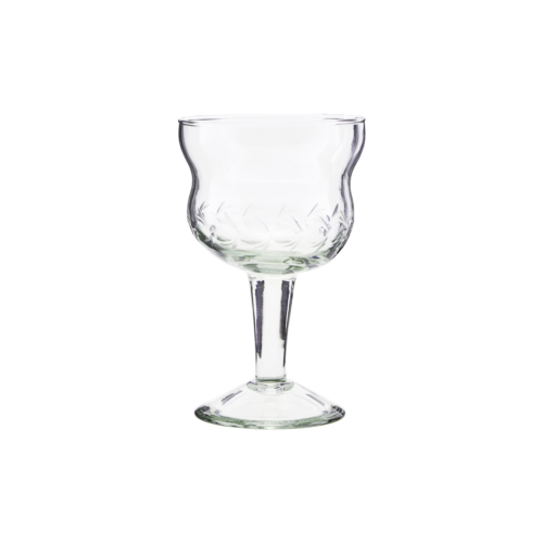 House Doctor - Red wine glass, Vintage, dia: 8 cm, h: cm