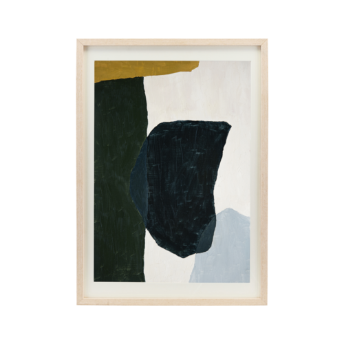 House Doctor - Illustration w. frame, Artgraphic, Oak, 50 cm, h: 70 cm