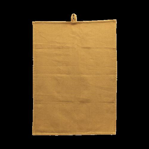 House Doctor - Tea towel, Polly, Waffle, Curry, l: 70 70 cm, b: 50 cm, 100% Bomuld